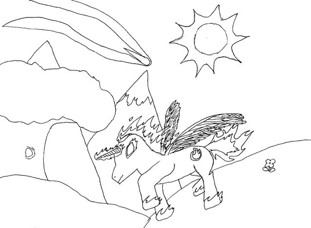 File:FANMADE Shadow Blaze using magic sketch.jpg