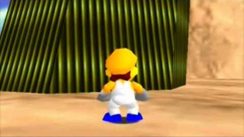 Super Mario 64 bloopers Visit from a friend!