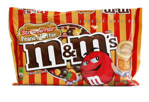 M&m's peanut butter strawberry