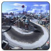 Snow Storm City Icon
