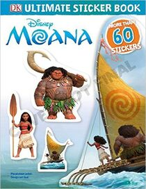 Ultimate Sticker Book- Disney Moana