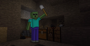 Marcus with shovel