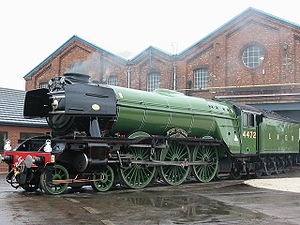 300px-Flying Scotsman in Doncaster