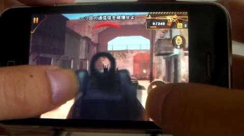 Modern Combat Sandstorm (gameloft) gameplay