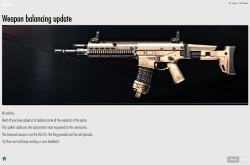First MC5 update