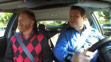 Mitch & Cam in the car