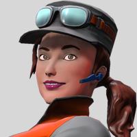 Pitgirl portrait