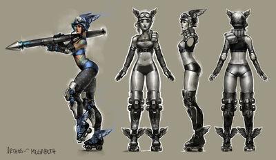 Megabeth Concept Art
