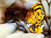 Mondo TV - The Jungle Book - Shere Khan with Tabaqui and Another Hyena