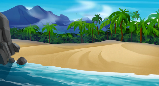 File:Monkey Island - Beach 3.png