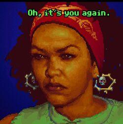 Carla-oh its you-again