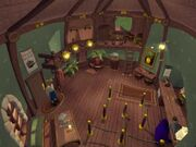 Lucre Island bank interior