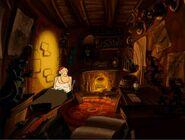 Mort's House inside