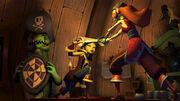 Monkey-Island-tales girl fight