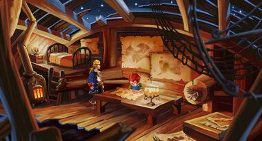 Monkey-island-2 wally hut