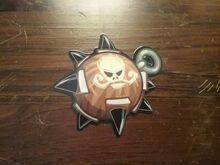 Doom Popper Pin