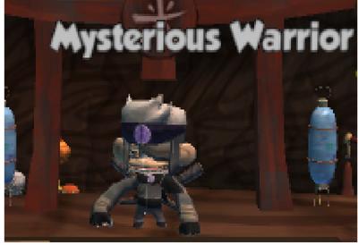Mysterious Warrior