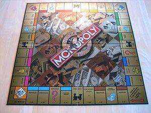 Monopoly deluxe edition spielbrett