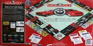 Monopoly Ford Mustang 40 anniversary box rear