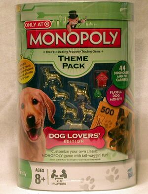 Monopoly Theme Pack - Dog Lovers