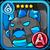 Aqua Bun Icon