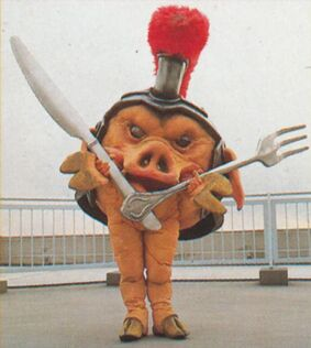 MMPR Pudgy Pig