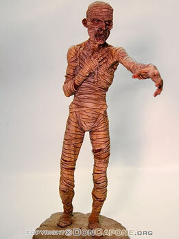 The-Mummy-model-kit