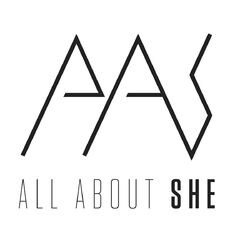 All About She Logo