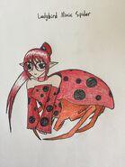 Ladybird Mimic Spider Arachne