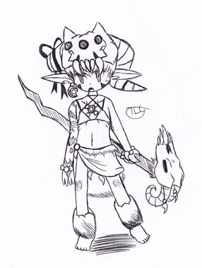 Monster voodoo witch by thelonecourier-d69rshy