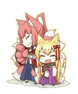 Tamamo and Yao