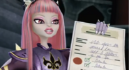 Rochelle is transfering to Monster High!