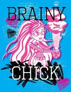 Facebook - brainy chick