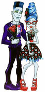 Profile art - Love's Not Dead Sloman and Ghoulia