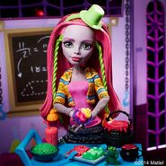 Diorama - Marisol's lunch at Monster High