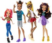 Doll stockphotography - A Pack of Trouble 4-pack