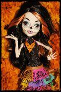 Diorama - Skelita before orange