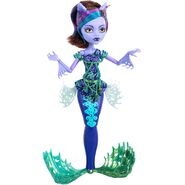 Doll stockphotography - Great Scarrier Reef - Glowsome Ghoulfish Clawdeen