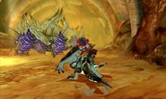MHST-Brute Tigrex and Plum Daimyo Hermitaur Screenshot 001