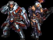 FrontierGen-Sutoroma Armor (Gunner) Render 2
