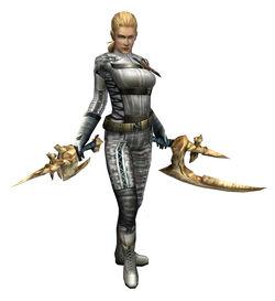 MHP3-The Boss Armor Render 2