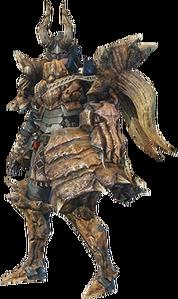 MHO-Diablos Armor (Gunner) (Female) Render 001