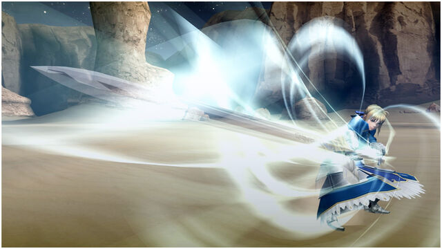 File:FrontierGen-約束された勝利の剣 Screenshot 001.jpg