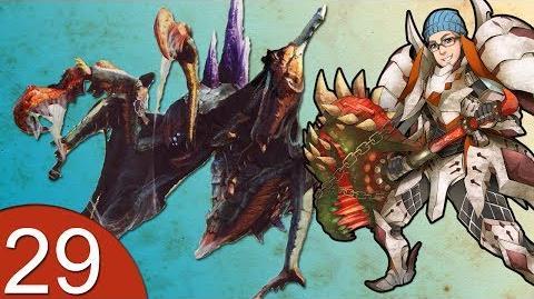 Monster Hunter 4 Nubcakes 29 - Nerscylla GRINDING English commentary online gameplay