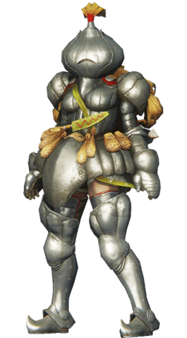 File:MHO-Onion Knight Armor (Both) (Female) Render 001.png