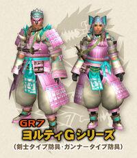 MHFG Yoruti Armor Small