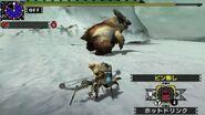 MHGen-Snowbaron Lagombi Screenshot 002