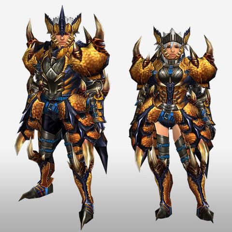 File:FrontierGen-Tigrex G Armor (Blademaster) (Front) Render.jpg