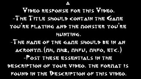 Monster Hunter Wikia's Video Hunt of the Month Contest