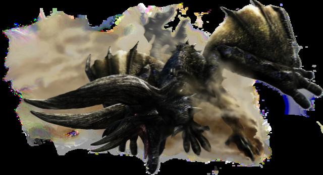 File:MH4U-Black Diablos Render 001.png